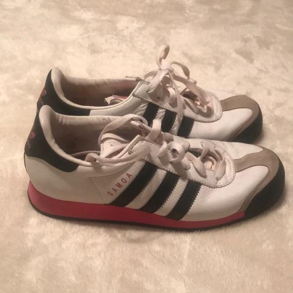 Le Adidas Nero Bianco E Rosa Poshmark Samoa 75